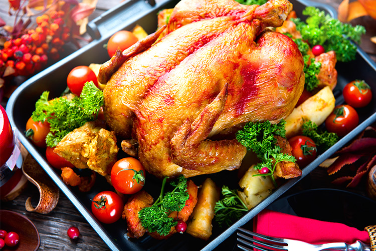 dont over spend on Food - turkey