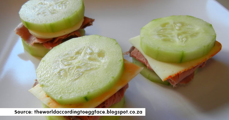 New-age Cucumber Sandwiches snacks for kids