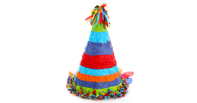 Pinata surprise kids for childrens parties