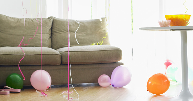 Cofetti decoration for kids parties